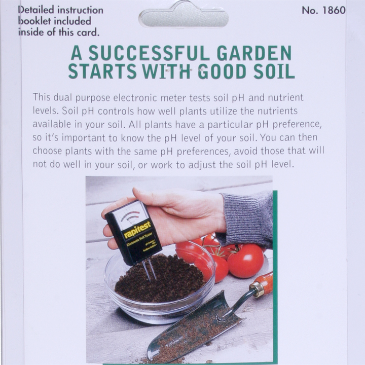 rapitest ph soil tester instructions