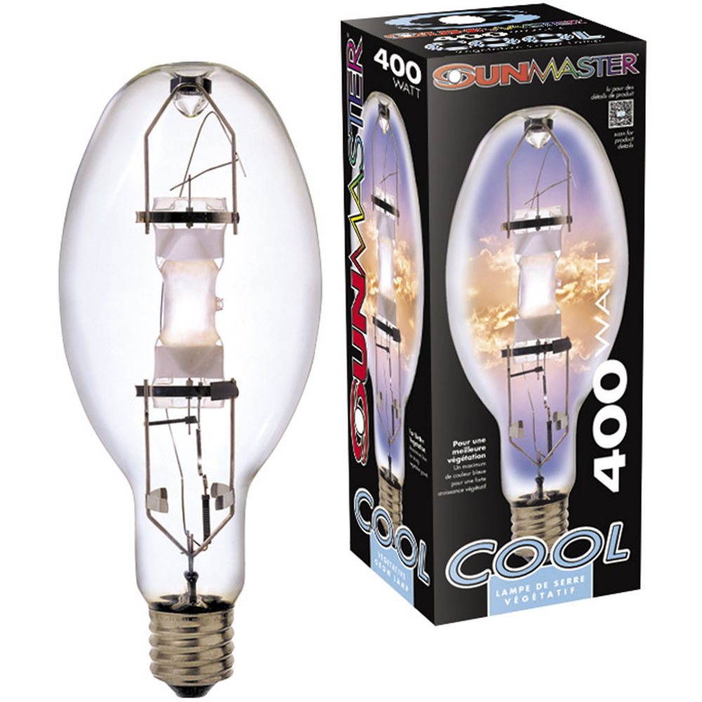 400w Cool 5500K Metal Halide Lamp (Universal Burn