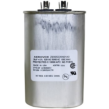 High Pressure Sodium Capacitor