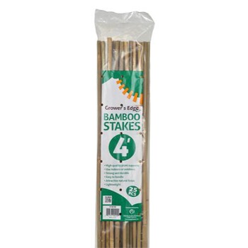 4 ft Bamboo Stakes- Package of 25