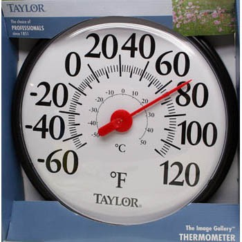 13 inch Round Thermometer